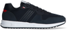 Blauwe TOMMY HILFIGER Lage sneakers MODERN CORPORATE MIX RUNNER - small
