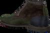 Groene FLORIS VAN BOMMEL Enkelboots 10978  - small