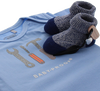 Blauwe SHOESME Babyschoenen ROMPER  - small