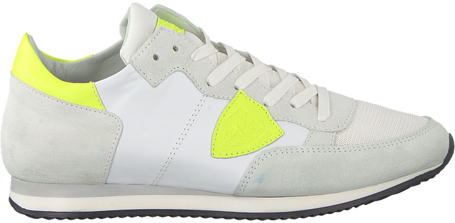 Witte PHILIPPE MODEL Sneakers TROPEZ NEON  - large
