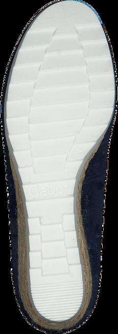 Blauwe GABOR Instappers 641 - large