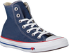 Blauwe CONVERSE Sneakers CHUCK TAYLOR ALL STAR HI DAMES  - small