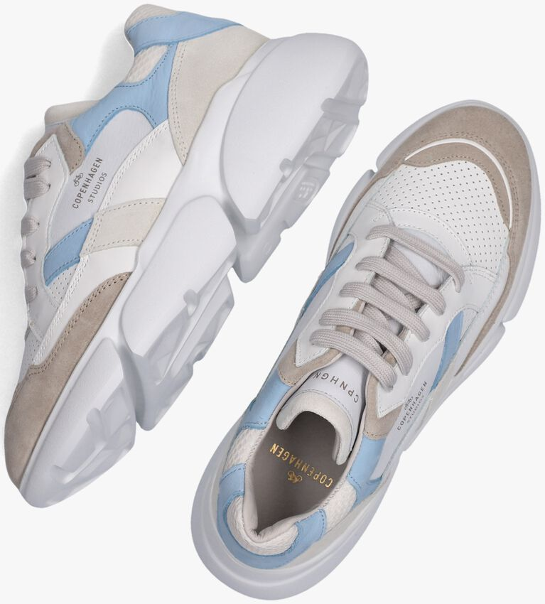 Blauwe COPENHAGEN STUDIOS Lage sneakers CPH555  - larger