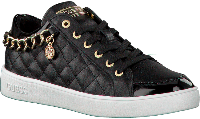 Zwarte GUESS Sneakers FLGLI3 LEA12  - large