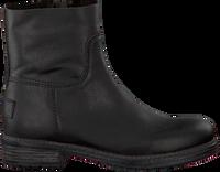Zwarte SHABBIES Enkellaarsjes 172-0062SH  - medium