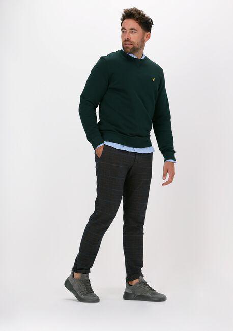 Groene LYLE & SCOTT Sweater CREW NECK SWEATSHIRT - large