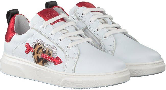 Witte CLIC! Sneakers 9747 - large