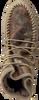 Taupe KARMA OF CHARME Enkellaarsjes CAMOU - small