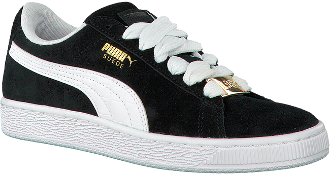 Zwarte PUMA Sneakers SUEDE CLASSIC BBOY JR  - large