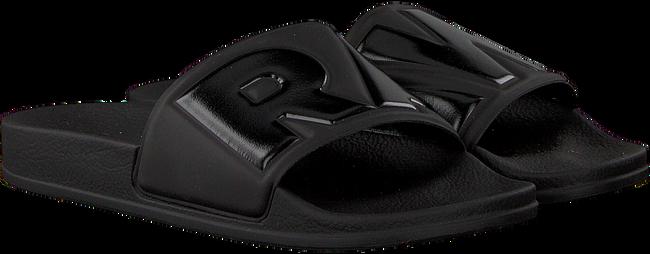 Zwarte G-STAR RAW Slippers CART SLIDE II DAMES - large