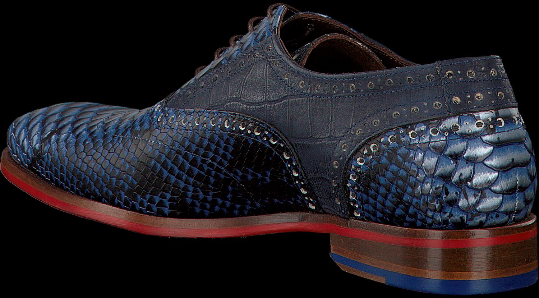 Chaussures Habillées Bleu Floris Van Bommel 19104 mWPu8rW