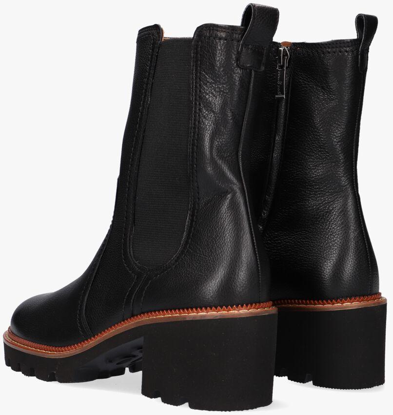 Zwarte PAUL GREEN Chelsea boots 9908  - larger