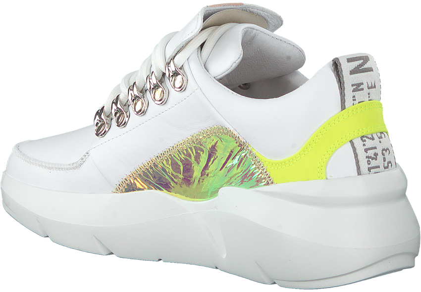 Witte NUBIKK Lage sneakers LUCY ROYAL  - larger