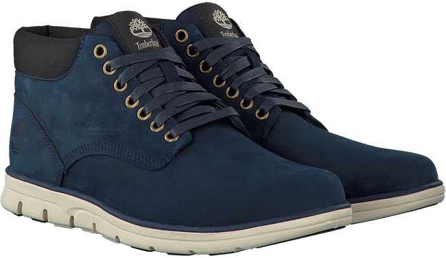 Blauwe TIMBERLAND Sneakers BRADSTREET CHUKKA LEATHER  - large