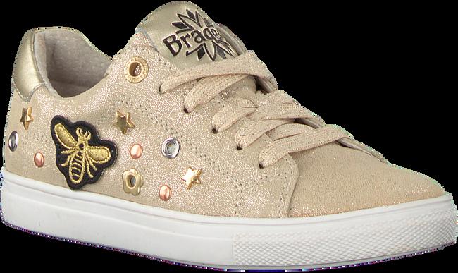 Gouden BRAQEEZ Sneakers LEXI LOUWIES  - large