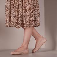 Beige UNISA Ballerina's ACOR  - medium