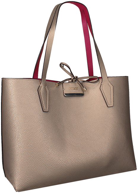 Gouden GUESS Shopper HWMM64 22150 - large