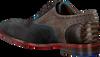 Blauwe FLORIS VAN BOMMEL Nette schoenen 19102  - small