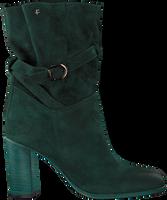 Groene FLORIS VAN BOMMEL Enkellaarsjes 85719  - medium