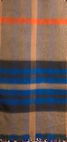 Blauwe NOTRE-V Sjaal BONK  - medium