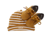 Camel TIMBERLAND Babyschoenen CRIB BOOTIE W/HAT  - small