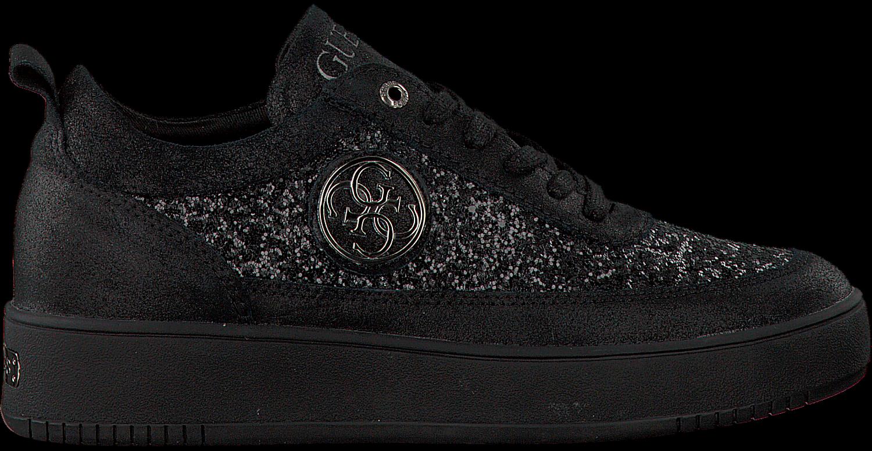 4e61de18d01 Zwarte GUESS Sneakers FLFVA3 LEM12 - Omoda.nl