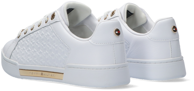 Witte TOMMY HILFIGER Lage sneakers TH MONOGRAM ELEVATED  - large