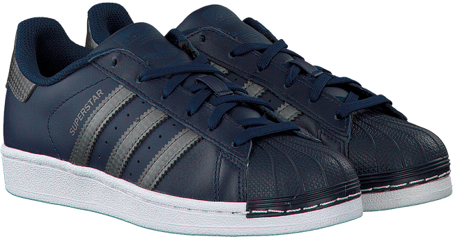 Blauwe ADIDAS Sneakers SUPERSTAR J  - large