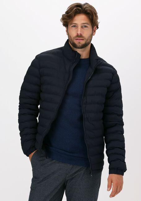 Donkerblauwe PROFUOMO Gewatteerde jas FLORIANS - large