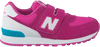 Roze NEW BALANCE Sneakers KV574  - small