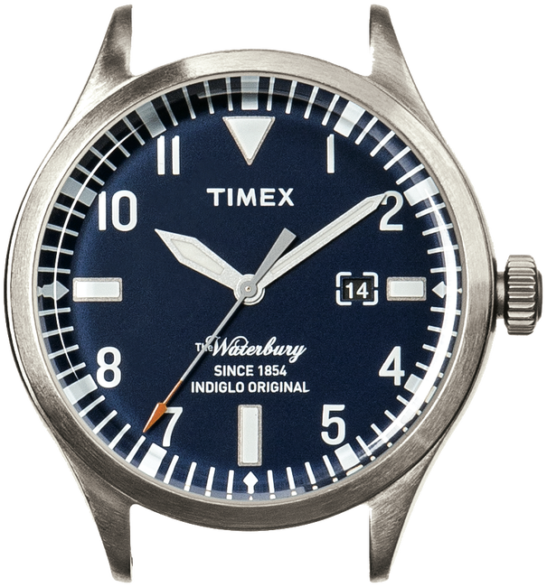 TIMEX HORLOGE WATERBURY DATE - large