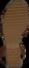 Cognac TOMMY HILFIGER Sandalen TH RAFFIA HIGH WEDGE  - small