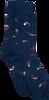 Blauwe ALFREDO GONZALES Sokken EGGPLANT - small