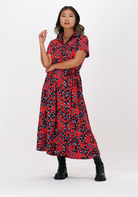 Multi COLOURFUL REBEL Midi jurk DALIA MAXI SHIRT DRESS - large
