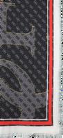 Zwarte GUESS Sjaal JENSEN PRINTED - medium