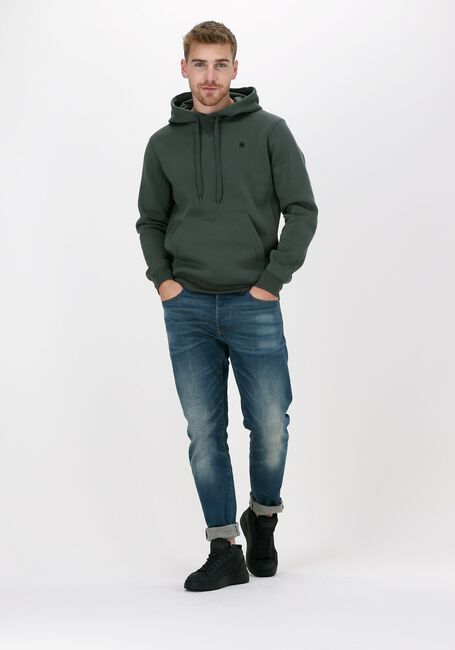 Grijze G-STAR RAW Sweater C235 - PACIOR SWEAT R HOODIE  - large