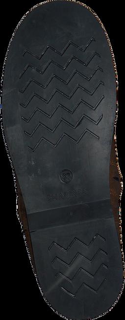 Bruine SHABBIES Enkelboots 0141  - large