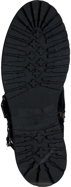 Zwarte NUBIKK Biker boots FAE BUCKLE FUR  - large