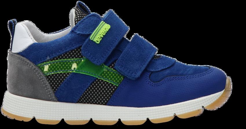 Blauwe DEVELAB Lage sneakers 41557  - larger