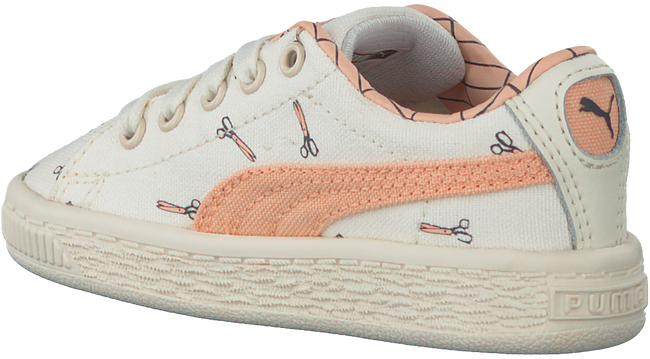 Beige PUMA Sneakers TINY COTTONS CANVAS  - large