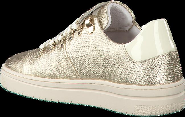 Gouden NUBIKK Sneakers YEYE LIZARD WOMAN  - large