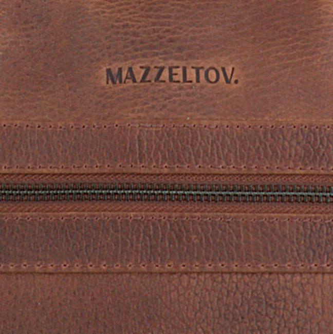Bruine MAZZELTOV Laptoptas 18296  - large