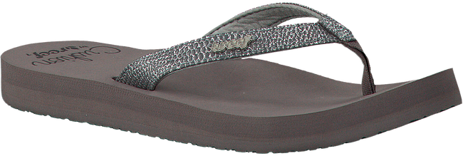 Grijze REEF Slippers STAR CUSHION SASSY  - large