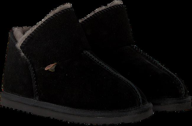 Zwarte WARMBAT Pantoffels WILLOW WOMEN SUEDE - large