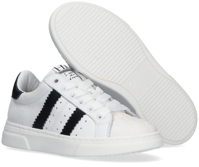 Witte HIP Lage sneakers H1261  - large