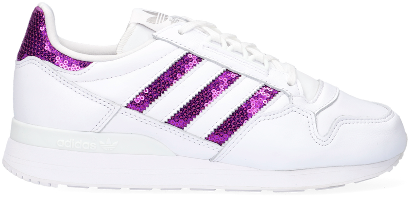 Witte ADIDAS Lage sneakers ZX 500 W  - larger
