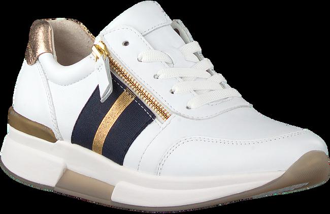 Witte GABOR Lage sneakers 928  - large