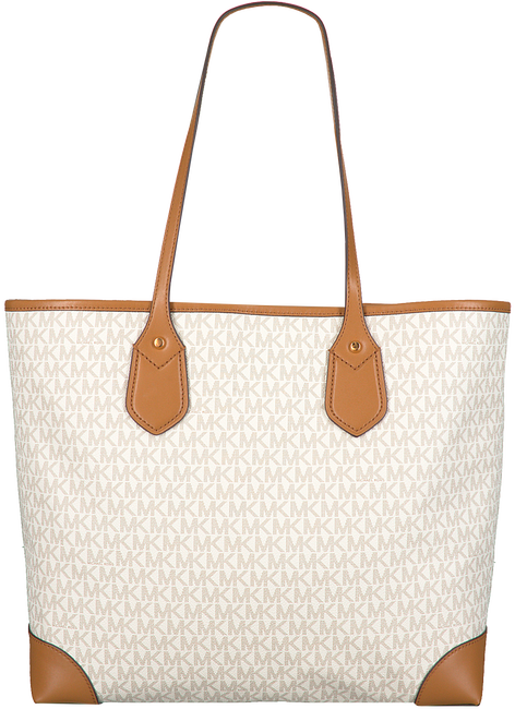 Beige MICHAEL KORS Shopper EVA LG TOTE  - large