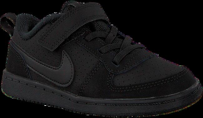 Zwarte NIKE Sneakers COURT BOROUGH LOW (KIDS) - large