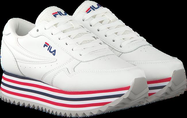 Witte FILA Sneakers ORBIT ZEPPA STRIPE WMN  - large